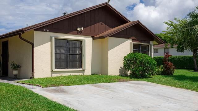 5245 Robbie Court, West Palm Beach, FL 33415 (#RX-10746067) :: Ryan Jennings Group