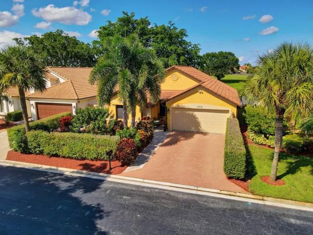 2714 Linkside Drive, Wellington, FL 33414 (MLS #RX-10746244) :: Berkshire Hathaway HomeServices EWM Realty