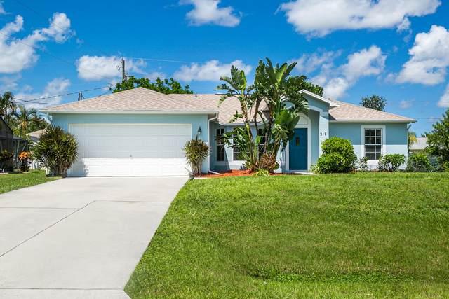 257 SW Chandler Terrace, Port Saint Lucie, FL 34984 (MLS #RX-10746279) :: The Jack Coden Group