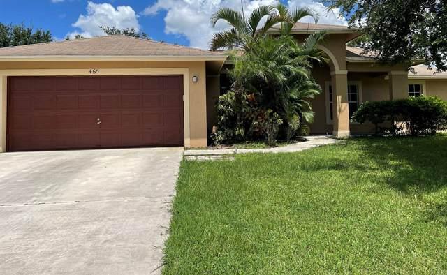 465 SW Balfour Avenue, Port Saint Lucie, FL 34953 (MLS #RX-10746302) :: The Jack Coden Group