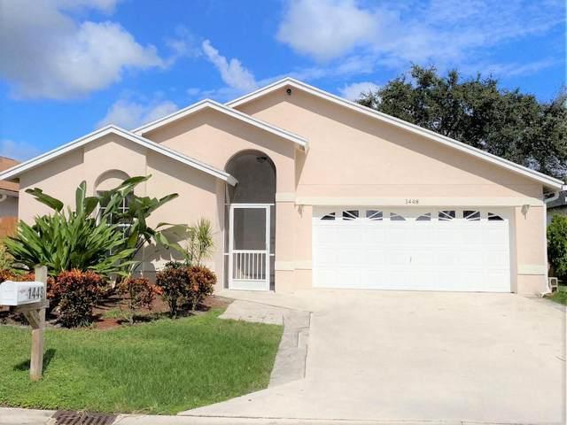1448 Waterway Cove Drive, Wellington, FL 33414 (MLS #RX-10746416) :: Berkshire Hathaway HomeServices EWM Realty