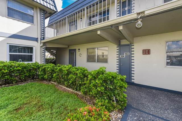 104 Brittany C C, Delray Beach, FL 33446 (MLS #RX-10746579) :: Castelli Real Estate Services