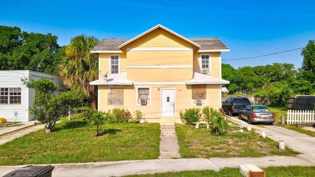 3321 Pinewood Avenue, West Palm Beach, FL 33407 (#RX-10746617) :: Heather Towe   Keller Williams Jupiter