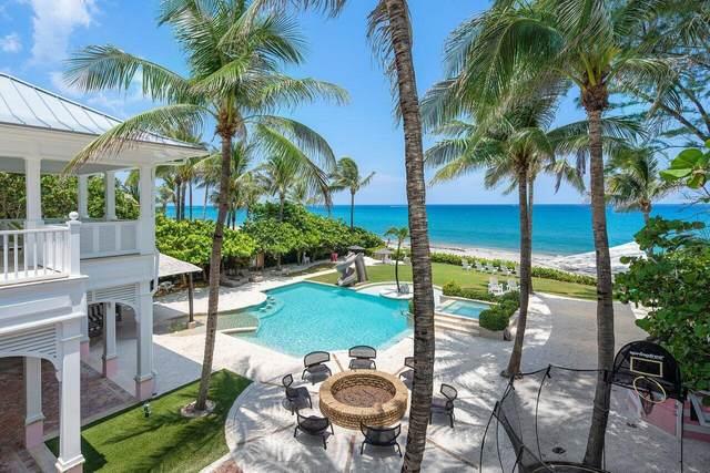 6275 N Ocean Boulevard, Ocean Ridge, FL 33435 (#RX-10746636) :: Posh Properties