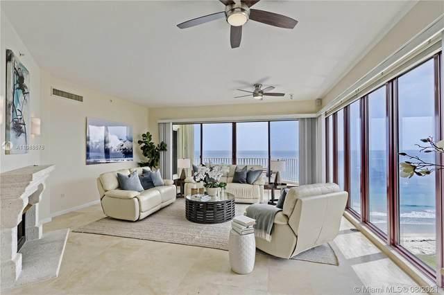 4400 N Highway A1a Ph2, Hutchinson Island, FL 34949 (#RX-10746659) :: Posh Properties