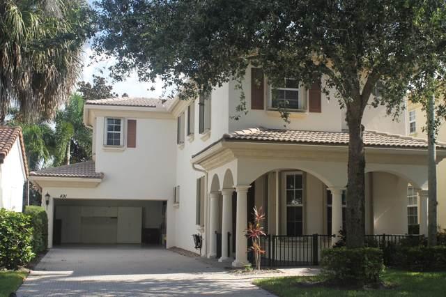 491 Leaf Drive, Palm Beach Gardens, FL 33410 (#RX-10746697) :: Michael Kaufman Real Estate