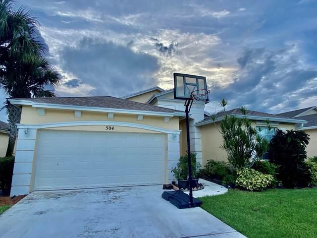 504 SW Indian Key Drive, Port Saint Lucie, FL 34986 (MLS #RX-10746718) :: Castelli Real Estate Services