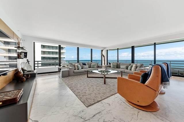 1500 S Ocean Boulevard S-1201, Boca Raton, FL 33432 (#RX-10746776) :: Michael Kaufman Real Estate