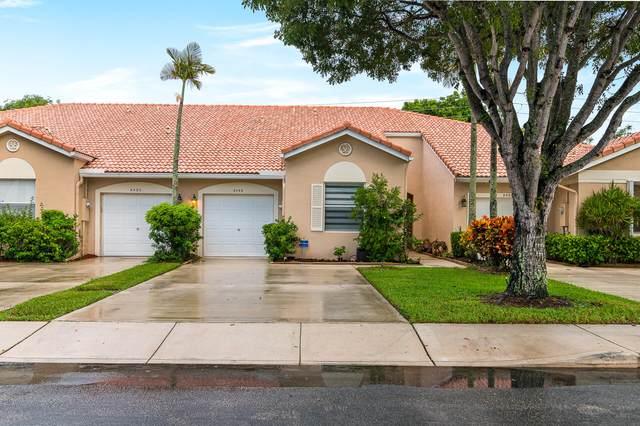 2486 S Coral Trace Circle S, Delray Beach, FL 33445 (MLS #RX-10746816) :: Castelli Real Estate Services