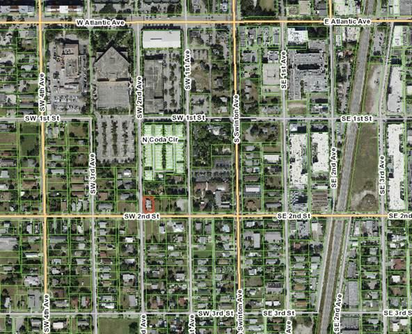 111 SW 2nd Street, Delray Beach, FL 33444 (#RX-10746837) :: Michael Kaufman Real Estate