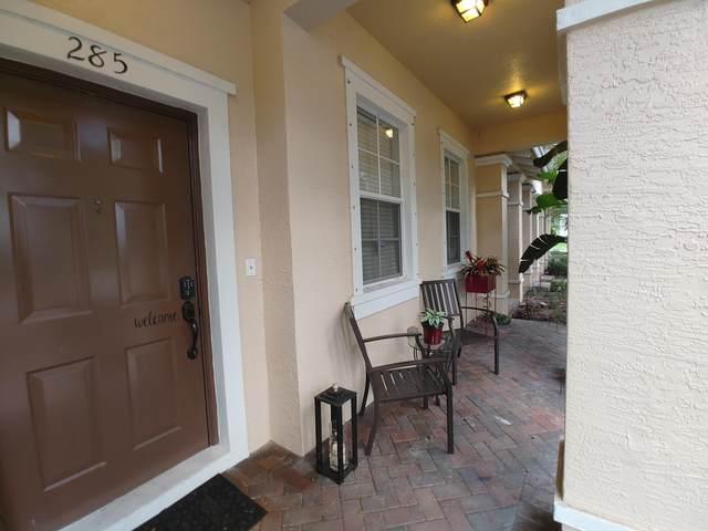 285 E Bay Cedar Circle #285, Jupiter, FL 33458 (MLS #RX-10746929) :: United Realty Group
