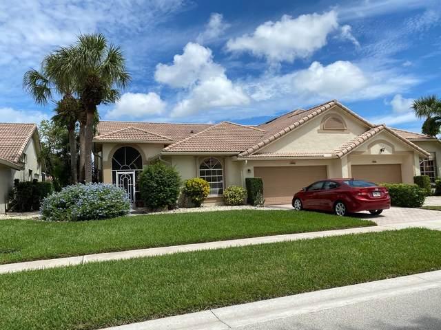 7212 Ashford Lane, Boynton Beach, FL 33472 (MLS #RX-10746957) :: United Realty Group