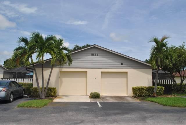 1531 Pheasant Walk D, Fort Pierce, FL 34950 (MLS #RX-10747019) :: Adam Docktor Group
