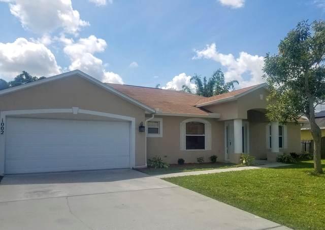1002 SW Mccall Road, Port Saint Lucie, FL 34953 (#RX-10747039) :: Michael Kaufman Real Estate