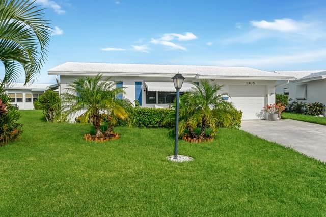1305 SW 21st Street, Boynton Beach, FL 33426 (MLS #RX-10747074) :: United Realty Group