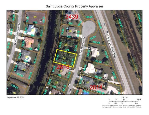 2032 SE Blackwell Drive, Port Saint Lucie, FL 34953 (MLS #RX-10747100) :: Adam Docktor Group