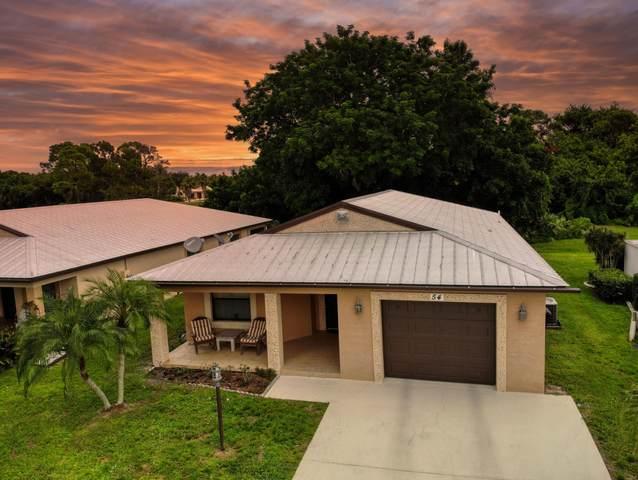 54 Golf Drive, Fort Pierce, FL 34952 (MLS #RX-10747286) :: Adam Docktor Group