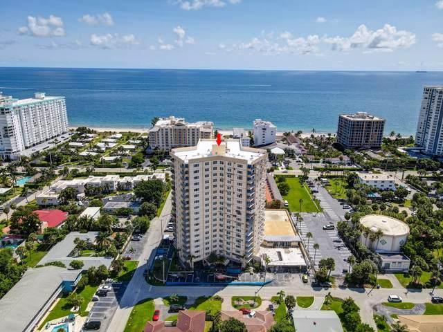 1200 Hibiscus Avenue #904, Pompano Beach, FL 33062 (MLS #RX-10747329) :: Berkshire Hathaway HomeServices EWM Realty