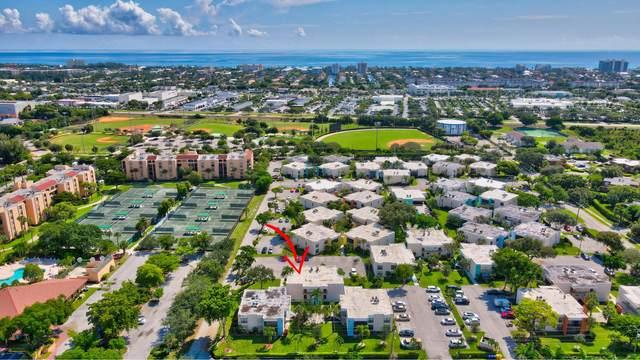 2361 Jaeger Drive 7A, Delray Beach, FL 33444 (#RX-10747370) :: Michael Kaufman Real Estate