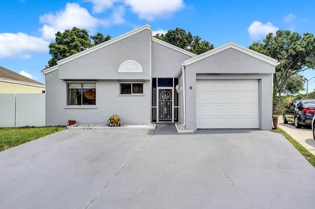 6 Compton Way, Boynton Beach, FL 33426 (#RX-10747415) :: Baron Real Estate