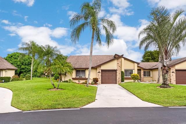 140 Village Walk Drive #20, Royal Palm Beach, FL 33411 (#RX-10747447) :: Baron Real Estate
