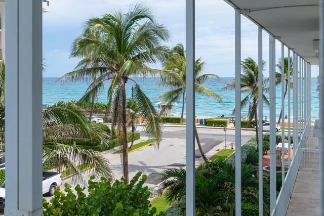 400 S Ocean Boulevard #202, Palm Beach, FL 33480 (#RX-10747487) :: Posh Properties