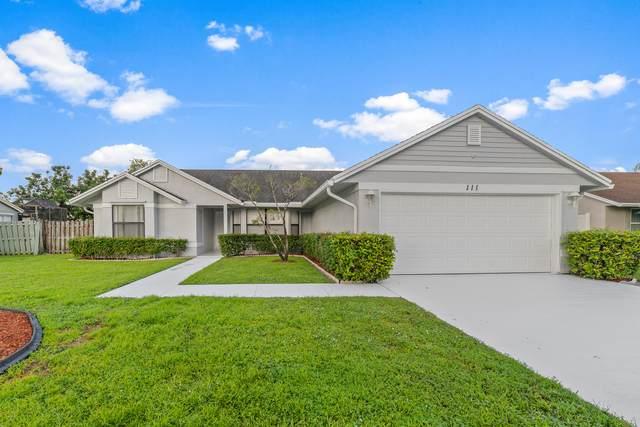 111 Sherwood Drive, Royal Palm Beach, FL 33411 (#RX-10747497) :: Ryan Jennings Group