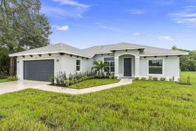 618 NW Billiar Avenue, Port Saint Lucie, FL 34953 (MLS #RX-10747592) :: Berkshire Hathaway HomeServices EWM Realty