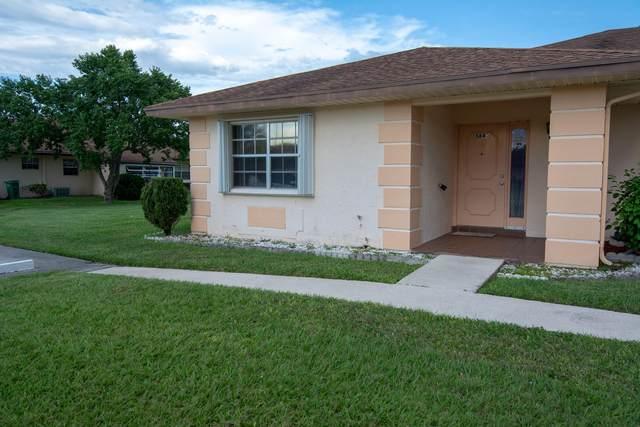 5840 Moss Court #9, Fort Pierce, FL 34982 (MLS #RX-10747651) :: The DJ & Lindsey Team