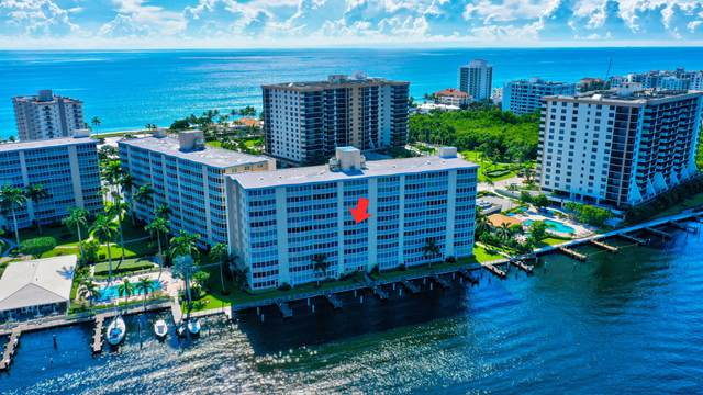 3310 S Ocean Boulevard 627-D, Highland Beach, FL 33487 (#RX-10747659) :: The Rizzuto Woodman Team