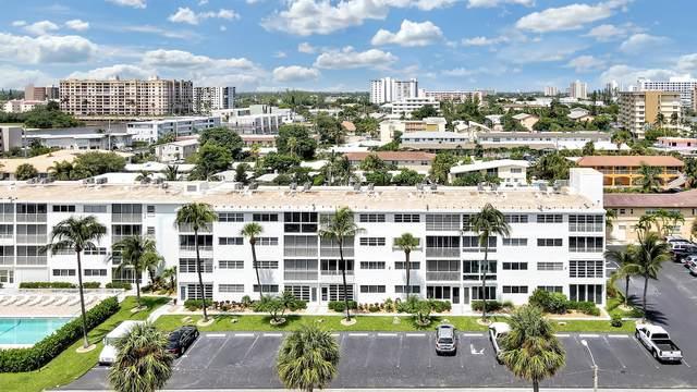 3221 NE 8th Street #203, Pompano Beach, FL 33062 (MLS #RX-10747678) :: Berkshire Hathaway HomeServices EWM Realty
