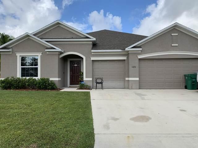 1634 SW Pancoast Street, Port Saint Lucie, FL 34987 (MLS #RX-10747845) :: Castelli Real Estate Services