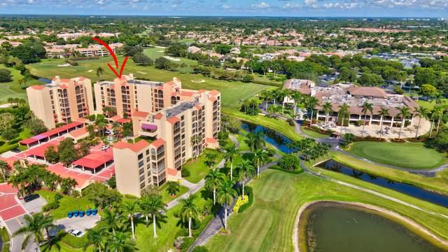 7137 Promenade Drive #501, Boca Raton, FL 33433 (#RX-10747882) :: The Rizzuto Woodman Team