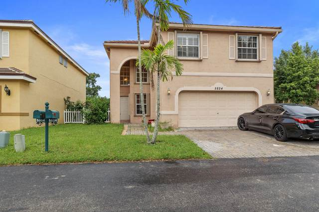 5824 N Sable Circle, Margate, FL 33063 (#RX-10747888) :: Baron Real Estate