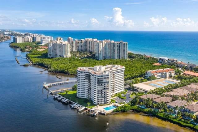3912 S Ocean Boulevard #1101, Highland Beach, FL 33487 (#RX-10748015) :: IvaniaHomes | Keller Williams Reserve Palm Beach