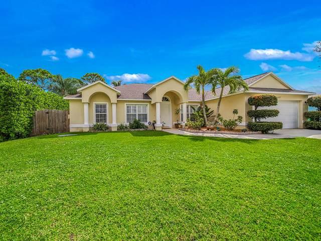 2267 SW Plymouth Street, Port Saint Lucie, FL 34953 (#RX-10748050) :: Michael Kaufman Real Estate