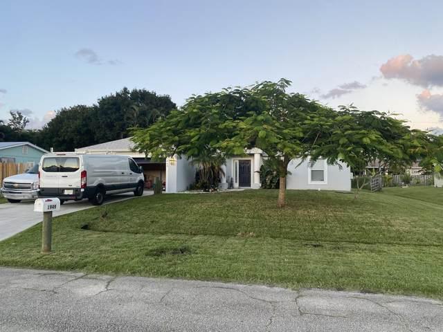 1949 SW Aquarius Lane, Port Saint Lucie, FL 34953 (#RX-10748510) :: Michael Kaufman Real Estate