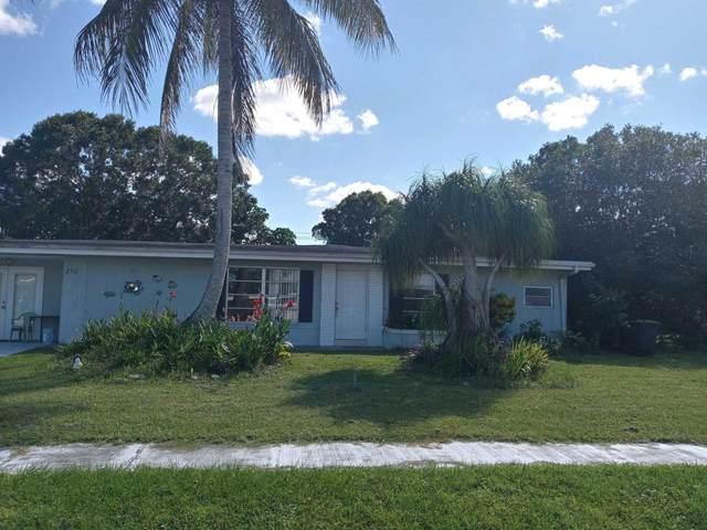 210 Banyan Drive, Fort Pierce, FL 34952 (#RX-10748661) :: Michael Kaufman Real Estate