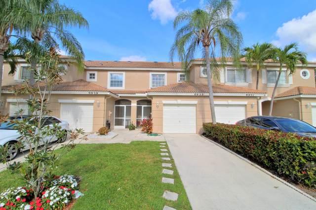 6955 Oak Bridge Lane #6955, Lake Worth, FL 33467 (#RX-10748713) :: Baron Real Estate