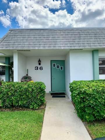 2638 Gately Drive E #36, West Palm Beach, FL 33415 (#RX-10748725) :: Michael Kaufman Real Estate