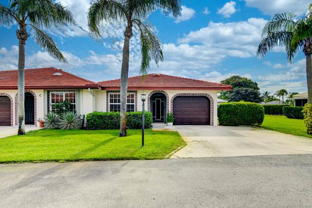 1432 SW 26th Avenue D, Boynton Beach, FL 33426 (#RX-10748947) :: Baron Real Estate