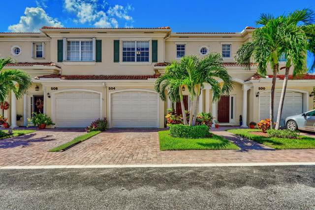 504 Marbella Circle, North Palm Beach, FL 33403 (#RX-10748956) :: Michael Kaufman Real Estate