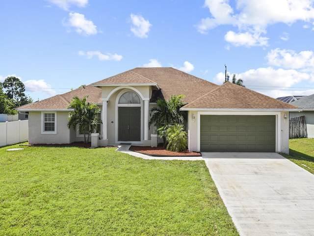 3982 SW Kabane Street, Port Saint Lucie, FL 34953 (#RX-10748980) :: Michael Kaufman Real Estate