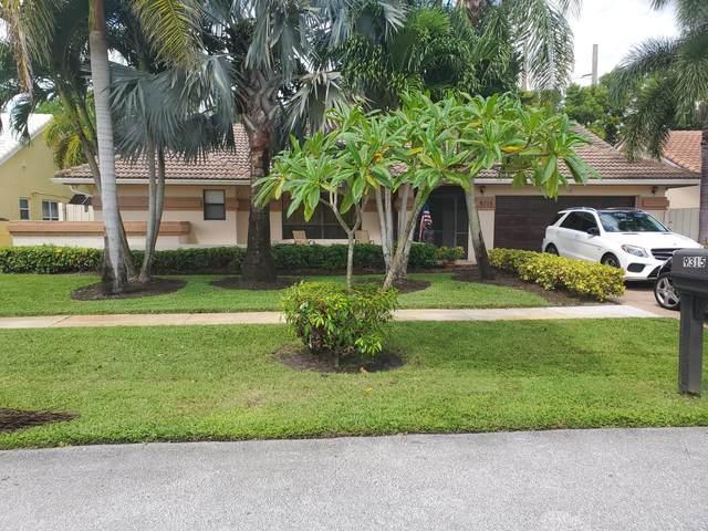 9315 Laurel Green Drive S, Boynton Beach, FL 33437 (MLS #RX-10749002) :: Castelli Real Estate Services