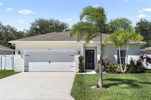 5336 Oakland Lake Circle, Fort Pierce, FL 34951 (#RX-10749099) :: Baron Real Estate
