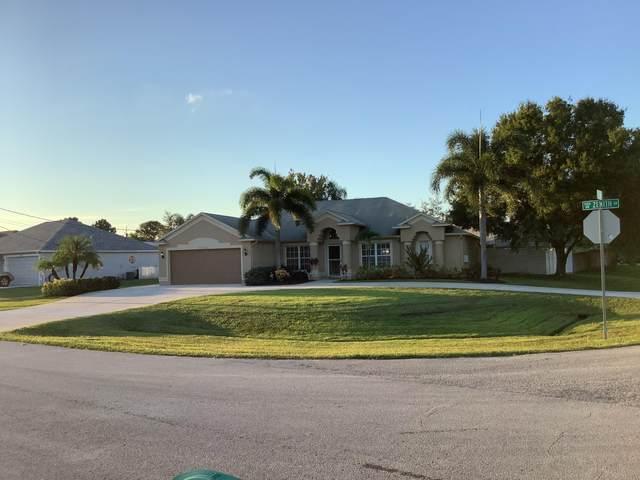 5802 NW Basswood Drive, Port Saint Lucie, FL 34986 (#RX-10749188) :: Heather Towe | Keller Williams Jupiter