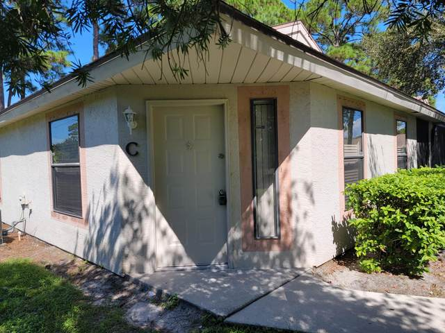 2835 Stoneway Lane Apt C, Fort Pierce, FL 34982 (#RX-10749325) :: Michael Kaufman Real Estate