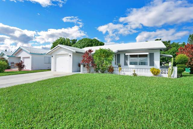 7505 NW 66th Terrace, Tamarac, FL 33321 (MLS #RX-10749391) :: Castelli Real Estate Services