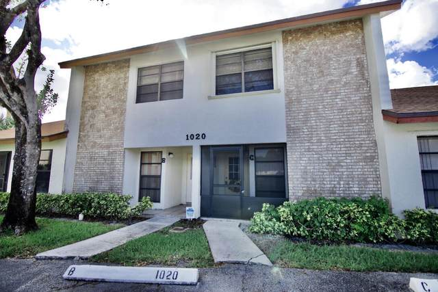 1020 Parkside Green Drive C, Greenacres, FL 33415 (#RX-10749479) :: Michael Kaufman Real Estate