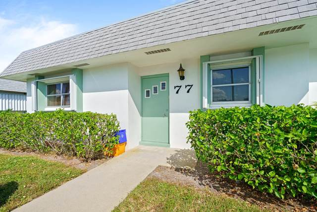 2638 Gately Drive E #77, West Palm Beach, FL 33415 (#RX-10749500) :: Michael Kaufman Real Estate